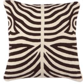 EICHHOLTZ kussen 'Zebra' bruin