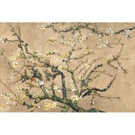 AluArt - van Gogh Blossom Beige 120x180