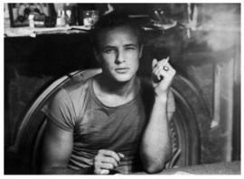 Spiegellijst met Marlon Brando cigarette