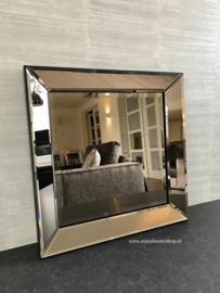 Spiegel met spiegellijst Brons (50x50)