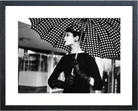 Fotolijst zwart-wit foto 'Nina Leen'