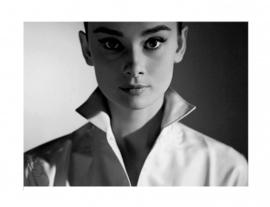 Spiegellijst Aydrey Hepburn (2) Portret