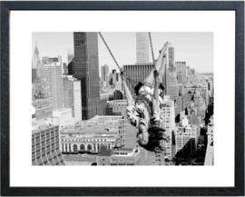 Fotolijst zwart-wit foto 'New York 03'