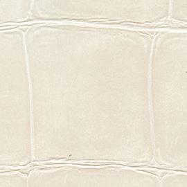Exclusief Croco behang - wit parelmoer BC302