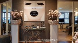 AluArt Kunstwerk - Black Lips