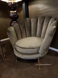 Luxury Fauteuil fluweel (PR) diverse kleuren