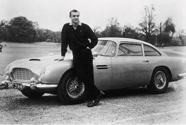 AluArt Kunstwerk - Sean Connery car