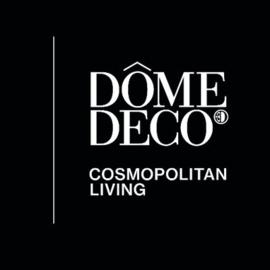 Dienblad SNAKE van Dôme Deco - bruin