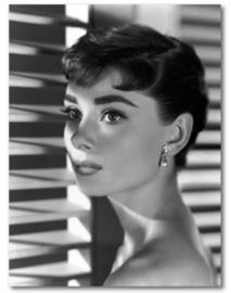 Spiegellijst Audrey Hepburn (5) Sabrina Fair