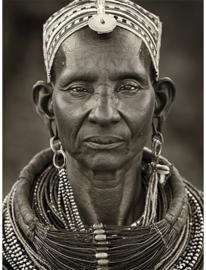AluArt Kunstwerk - Ngarunit Samburu woman