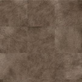 Exclusief vacht behang - bruin, lever MV526
