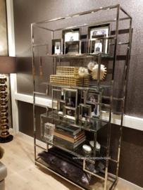 Wandkast 'Luxury' zilver (200x115)
