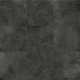 Exclusief vacht behang - antraciet, zwart MV506