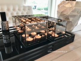 Set van 3 Waxinelichthouders