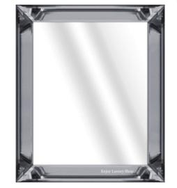 Spiegelfotolijst / wissellijst Antraciet (50x60)