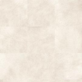 Exclusief vacht behang - crème, gebroken wit MV501