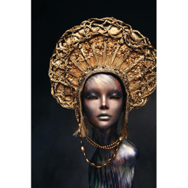 AluArt - Mannequin Golden Head 80x120