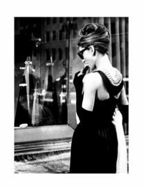 Spiegellijst Audrey Hepburn (3) Breakfast at Tiffany's