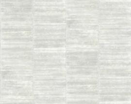 Exclusief palingleer behang motief - lichtgrijs PAL404
