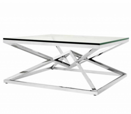 EICHHOLTZ Salontafel Coffee Table Connor - zilver