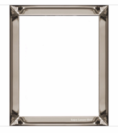 Spiegelfotolijst / wissellijst Brons (50x50)