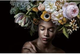 AluArt Kunstwerk - Flower Power Amelia