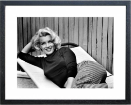 Fotolijst zwart wit foto Marilyn Monroe (5)
