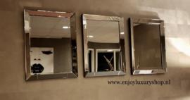 Spiegels | Spiegellijsten | zilver brons antraciet