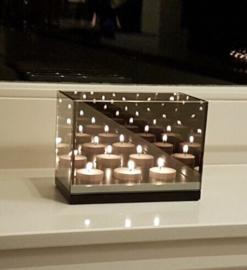 Waxinelichthouders 3-lichts