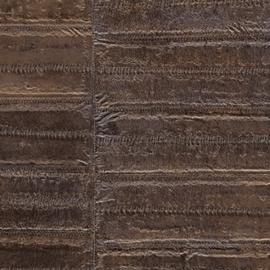 Exclusief palinghuid leer behang motief - bruin PAL423