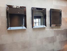 COMBI SET: 3x Spiegellijst (50x60) antraciet