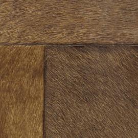 Exclusief vacht behang - bruin  APL813