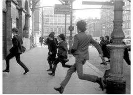 Spiegellijst met The Beatles