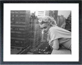 Fotolijst zwart wit foto Marilyn Monroe (2)