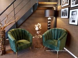Luxury Fauteuil fluweel (SH) diverse kleuren