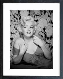 Fotolijst zwart wit foto Marilyn Monroe (6)