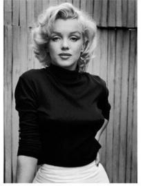 Spiegellijst met Marilyn Monroe 'On patio'