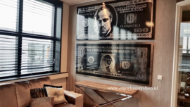 AluArt - Dollar Washington GLAM006 Parelmoer (90x200)