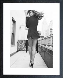 Fotolijst zwart-wit foto (Model2)