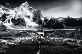 AluArt Kunstwerk - James Dean Airplane