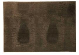 Placemat 'Lizard' van Dôme Deco - bruin