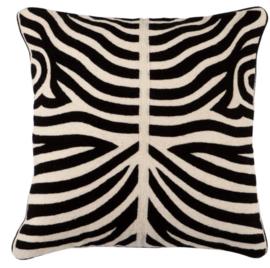 EICHHOLTZ kussen 'Zebra' zwart