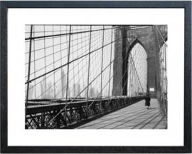 Fotolijst zwart-wit foto 'Bridge001'