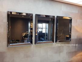 COMBI SET: 3x Spiegellijst (60x80) antraciet