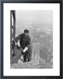 Fotolijst zwart-wit foto 'New York 02'