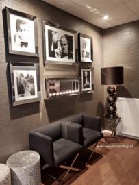 COMBI SET: 5x spiegel fotolijsten met sfeerhaard