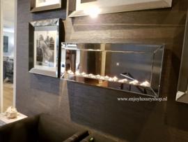 Luxe Sfeerhaard Spiegel waxinelichten