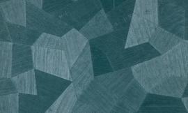 Exclusief 3D-behang - groen, blauw  ATF309