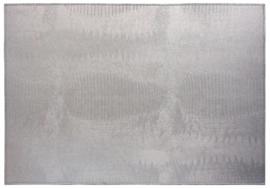 Placemat 'Lizard' van Dôme Deco - kleur zilver