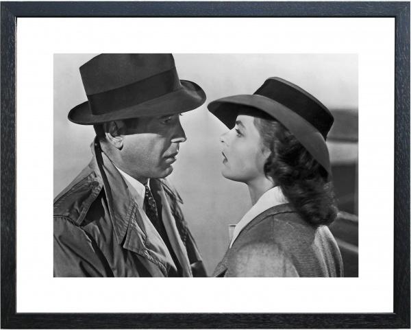 Fotolijst zwart-wit foto 'Casablanca'